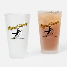 Slippin' Jimmy Drinking Glass