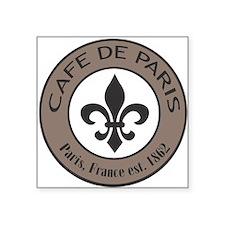 Modern trends Cafe De Paris Sticker