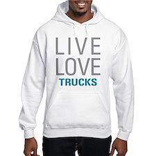Live Love Trucks Jumper Hoody