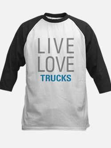 Live Love Trucks Baseball Jersey