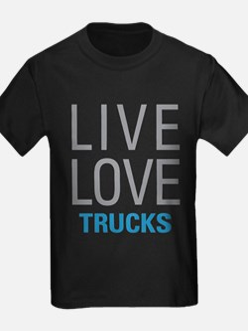 Live Love Trucks T-Shirt