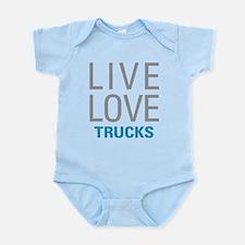 Live Love Trucks Body Suit