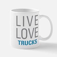 Live Love Trucks Mugs