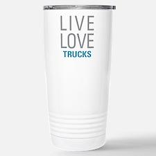 Live Love Trucks Travel Mug