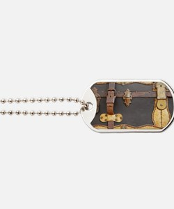 Steampunk Luggage Dog Tags