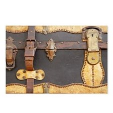 Steampunk Luggage Postcards (Package of 8)