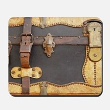 Steampunk Luggage Mousepad