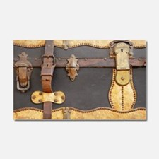 Steampunk Luggage Car Magnet 20 x 12