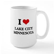 I love Lake City Minnesota Mugs