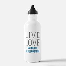 Website Development Water Bottle