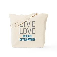 Website Development Tote Bag