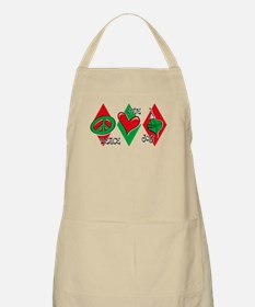 Peace Love Joy BBQ Apron