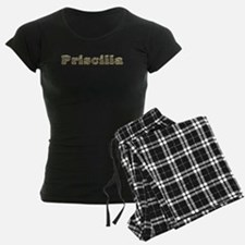 Priscilla Gold Diamond Bling Pajamas