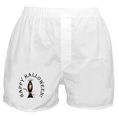 Halloween Black Crow Boxer Shorts