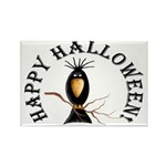 Halloween Black Crow Rectangle Magnets (10 pack)