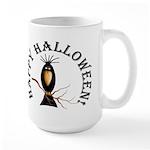 Halloween Black Crow Large Mug