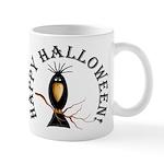 Halloween Black Crow Mug