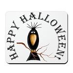 Halloween Black Crow Mousepad
