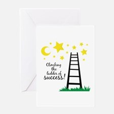 Ladder of Success Greeting Cards