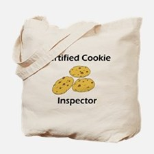 Certified Cookie Inspector Tote Bag