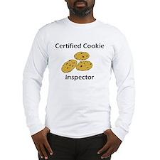 Certified Cookie Inspector Long Sleeve T-Shirt
