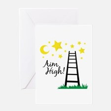 Aim High Greeting Cards