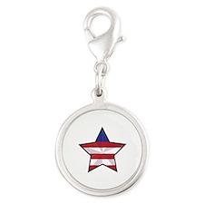 Patriotic Star Charms