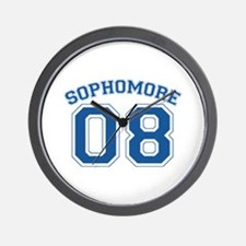 Sophomore 08 Wall Clock