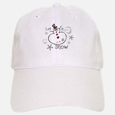 Let It Snow 2 Baseball Baseball Cap