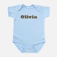 Olivia Gold Diamond Bling Body Suit