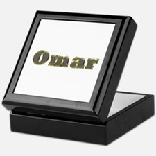 Omar Gold Diamond Bling Keepsake Box