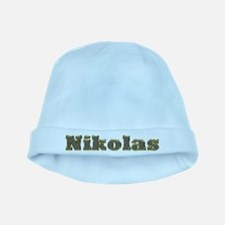 Nikolas Gold Diamond Bling baby hat