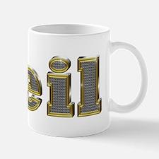 Neil Gold Diamond Bling Mugs