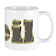 Neil Gold Diamond Bling Mugs