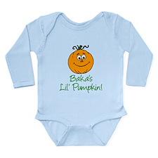 Bakas Little Pumpkin Body Suit