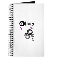 olivia name with stars Journal