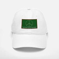 Montessori Peace Quote Baseball Baseball Cap