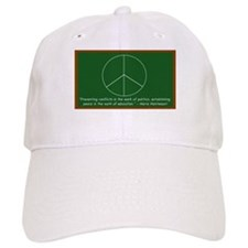 Montessori Peace Quote Baseball Cap