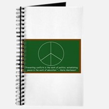 Montessori Peace Quote Journal