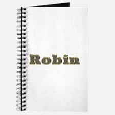 Robin Gold Diamond Bling Journal