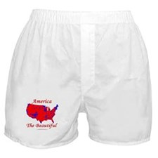"""America the Beautiful"" Boxer Shorts"