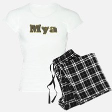 Mya Gold Diamond Bling Pajamas