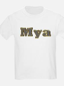 Mya Gold Diamond Bling T-Shirt