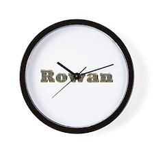 Rowan Gold Diamond Bling Wall Clock