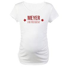 Meyer For President Red Shirt