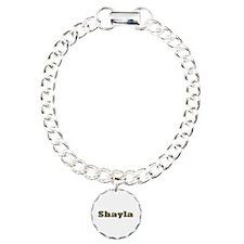 Shayla Gold Diamond Bling Bracelet