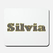 Silvia Gold Diamond Bling Mousepad