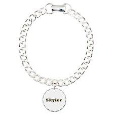 Skyler Gold Diamond Bling Bracelet