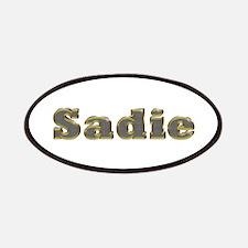 Sadie Gold Diamond Bling Patch