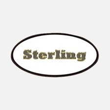 Sterling Gold Diamond Bling Patch